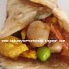 Chapathi Wrap-An Indianized Frankie