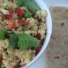 Tofu Bhurji-A protein powerhouse...