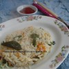 Peppered Carrot-Capsicum rice
