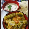 Sambar Saadham | One Pot Meal of Rice, Lentilsand Vegetables