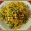 Badha Kopir Tarkari-Bengali Style Cabbage Stir-fry