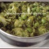 Coriander Cauliflower Peas Curry