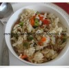 Microwave Peppered Capsicum Rice