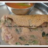 Ragi Adai With Herbs