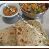 Bing | Spring Onion Parathas - Stuffed Paratha Series # 1 - Spring Onion