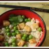 Tofu -  Peas Pulao
