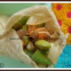 Chapathi Wrap With Chinese-style Vegetables