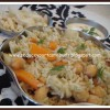 Vegtable Pulao and Chutney Raita