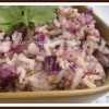 Purple Cabbage Rice With Paruppu Podi