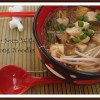 Tofu Soup with Moong Noodles