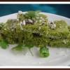 Microwave Green Peas Dhokla