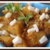 Microwave Goan Style Potatoes