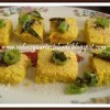 Microwave Khaman Dokhla