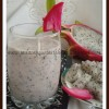 Dragon Fruit & Banana Smoothie