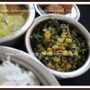 Menthiya Soppu Bele Palya | Fenugreek Leaves-Lentil Stir fry