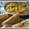 Paneer Ajwain Paratha & Vegetable Dal