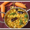 Carrot Paruppu Usili | Carrot - Lentil Stir Fry