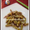 Sesame Garlic Green Beans for T & C