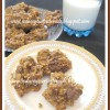 Oats - Banana - Almond - Chocolate Cookies | Eggless -Butterless Cookies