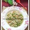 Minstra di Pasta e Piselli | Italian Peas - Pasta Soup