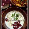 Aloo Anaar Raita | Potato Pomegranate Raita