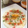 Vegetable Uthappam, Carrot- orange juice , Cumin – Mint Lassi and Mother's day