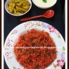 Beetroot Pulao | Pink Pulao