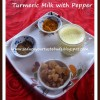 Turmeric Milk with Pepper