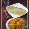 Microwave Baby Corn - Peas Kurma / Masala