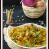 Olo Kobi Bhaja | Odian Turnip Stir Fry