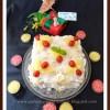 Eggless Piña Colada Cake