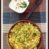 Bell Pepper (Capsicum) Rice with Homemade Vegetable Rice Powder Mix