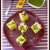 Sweet Corn Rawa Dhokla