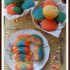 Eggless Colorful Cupcakes