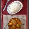 Dokar Dalna for ICC | Bengali Style Spiced Lentil Cakes in Gravy