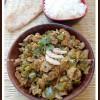 Masala Mushroom-Capsicum Curry