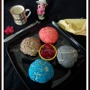 Eggless Conchas de Colores Naturales - Eggless Baking Group