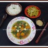 Sayur Bening Bayam | Indonesian Spinach, Carrot, and Tomato Soup