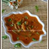 No Onion/No Garlic Tomato Capsicum Gravy