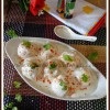 Low Calorie Dahi Balle | Lentil Dumplings in Spiced Yogurt