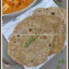Wholewheat Oats Spring Onion Roti