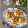 Eggless Butterless Tutti Frutti Custard Powder Cupcakes | Baking With Fruits