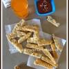 Baked Brinjal / Eggplant Sticks