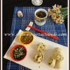 Hua Juan | Flower Shaped Chinese Scallion Buns