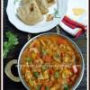 Punjabi Kadai Mushroom Gravy