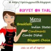 Buffet On The Table - Blogging Marathon # 56 Recap