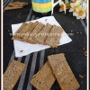 Baked Flaxmeal Whole Wheat Crisps