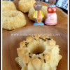 Eggless Butterless Coconut Mini Bundt Cake