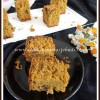 Eggless Butterless Whole Wheat Oats Cake [with Jaggery]