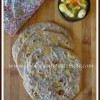 Aloo Methi Stuffed Paratha